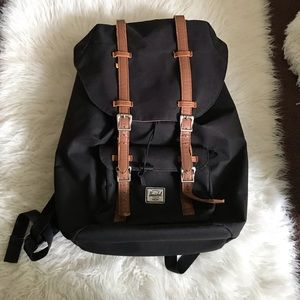 Hershel Black Little America Backpack